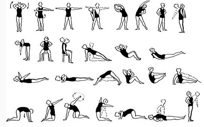 примеры упражнений
