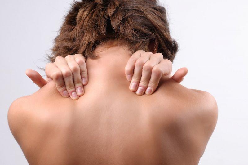 спина женщины