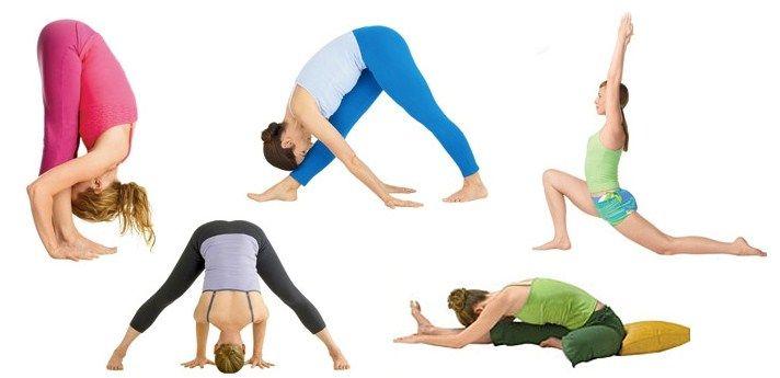 различные упражнения