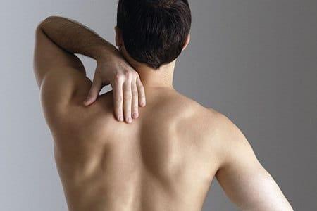 спина мужчины
